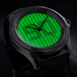 T1000 The brightest! –  mb-microtec presents the world's brightest self-luminous watch